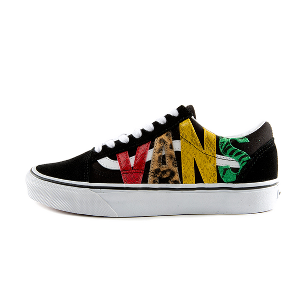 [VN0A4U3BXF1] Vans Multi Animal Old Skool Mens' Shoes