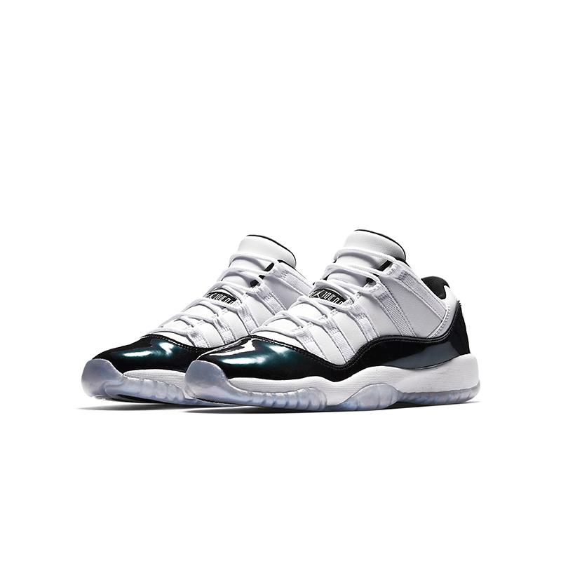 "528896-145 Air Jordan 11 Retro Low ""IRIDESCENT"" Big Kid's Shoes"