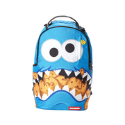 [B2512] Sprayground Cookie Monster Shark Backpack