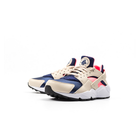 NIKE AIR WOMENS HUARACHE PRINT - OATMEAL / LAVA GLOW - Lace Up NYC