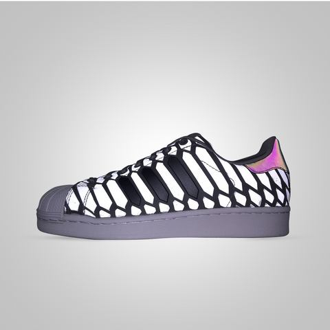 ADIDAS SUPERSTAR XENO LIGHT - ONIX/BLACK - Lace Up NYC