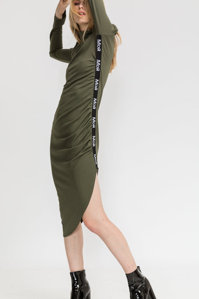 La Luz Dress - Green - Moй-collection