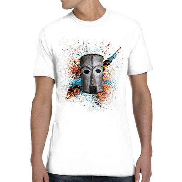 Men's T-Shirt Mask colored