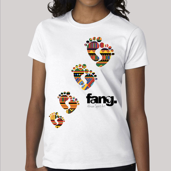 women's T-Shirt fang emprunte
