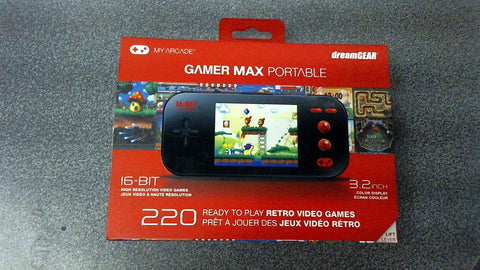 Console Portable Retro Gamer 220 Games -  Dream Gear