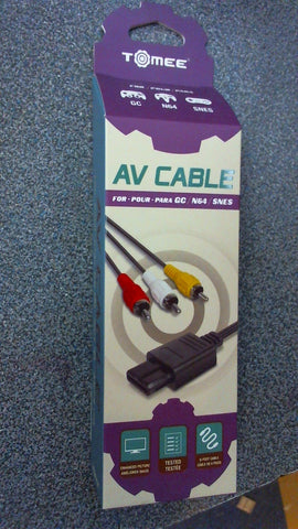 Cable 3 Couleurs Pour GC/N64/SNES -  Tomee