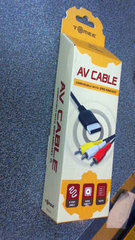 Cable AV Dreamcast  -  Tomee