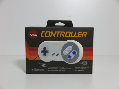 Manette SNES filaire Tomee pour PC/Mac
