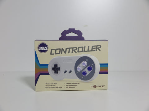 Manette filaire Tomee pour SNES