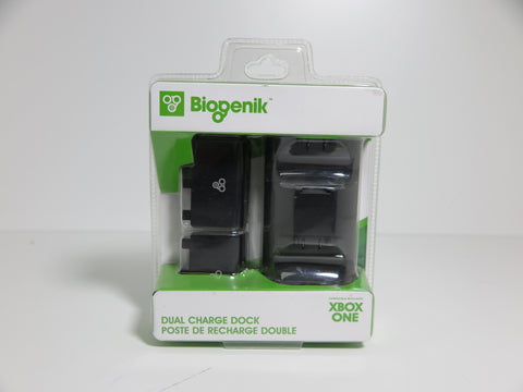 Poste de Charge et Batteries Rechargeable pour 2 Manette Xbox One