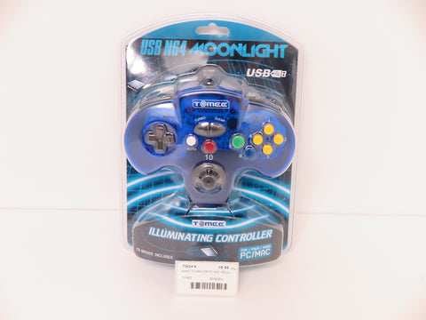 Manette N64 filaire Tomee pour PC/Mac