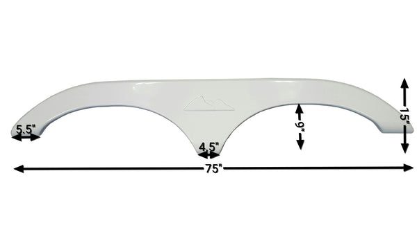 2004 - 2005 Keystone Montana Big Sky Fender Skirt (White)