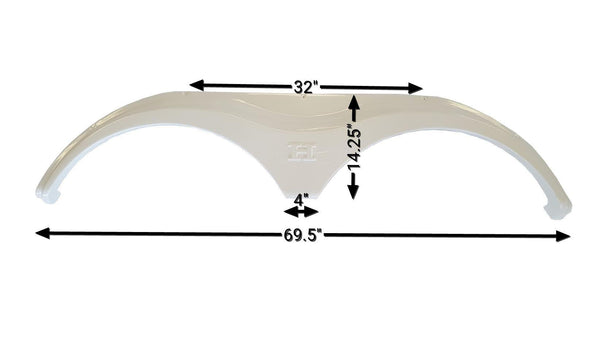 Heartland Fender Skirt (White)