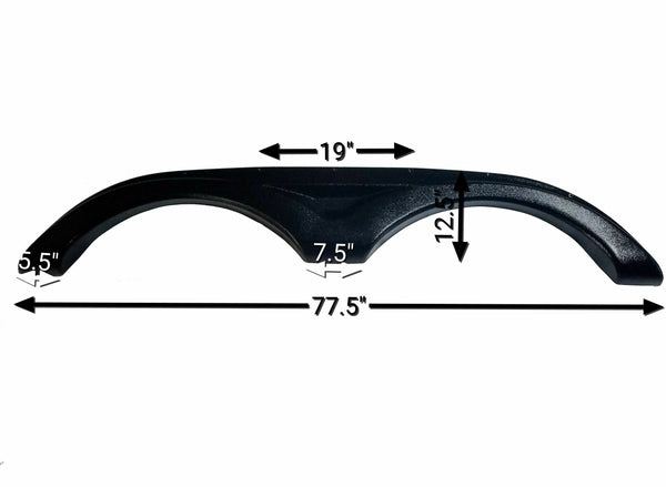 2011 - 2015 Dutchmen Infinity Fender Skirt (Black)