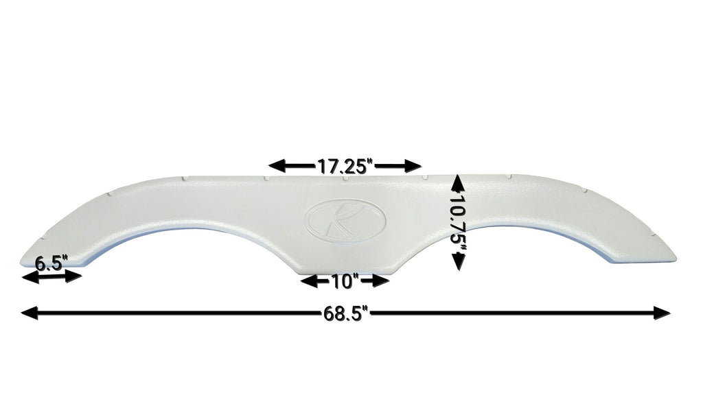 2004 - 2006 Keystone Sprinter Fender Skirt (White)