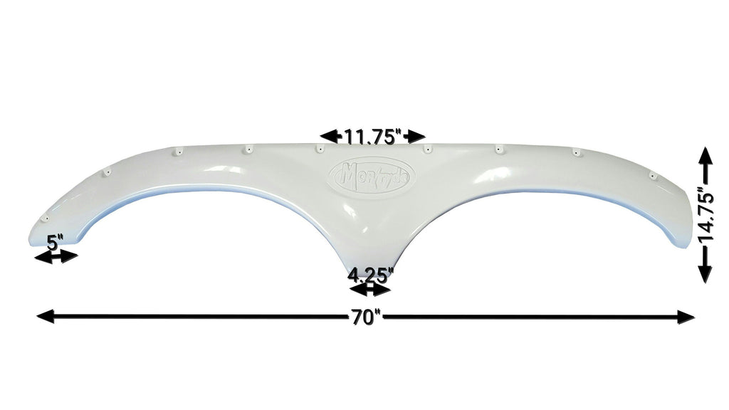 2007-2009 Keystone Montana / Montana Big Sky Fender Skirt (White)