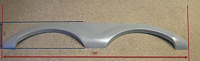 "Cruiser Enterra New Fender Skirt - 65"" X 12"" (Gray)"