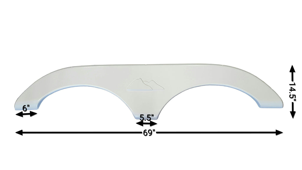 2004-2015 Keystone Cougar Fender Skirt (White)