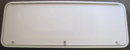 "Baggage Door - 60"" x 22"" - Artic White"