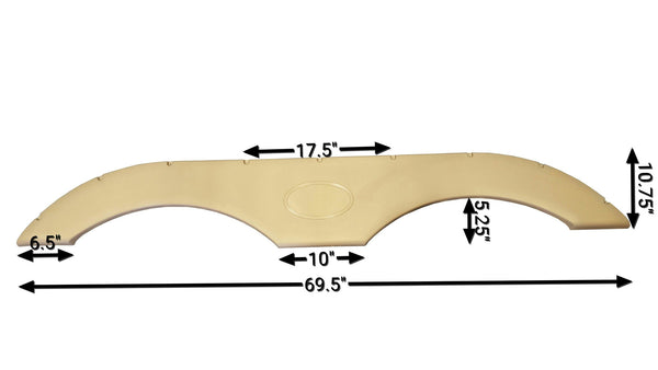 2009-2012 Dutchmen Dutchmen Fender Skirt (Gold)