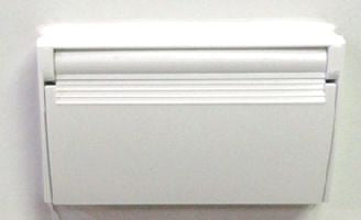Plate - Cover - Ext. Rec. - 3726/Sc - P & S - White