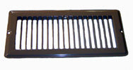 "Grill - Floor Register - 4"" x 10"" - Brown"