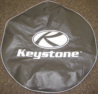 "Tire - Cover - 15"" - w/Logo - Bronze"