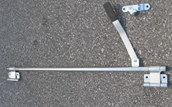 "Bar Lock - Ramp Door - LH - 42"" - Offset - w/Hasp"