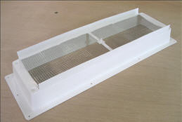 Refrigerator - Roof Vent - Base - Polar White - Bulk