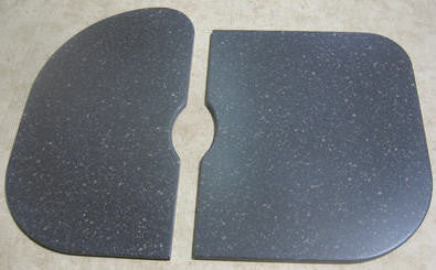 Countertop - Sink Cover - 2 Pc Replacement - LA - Cocoa