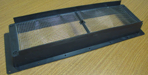 Refrigerator - Roof Vent - Base - Black - Dometic