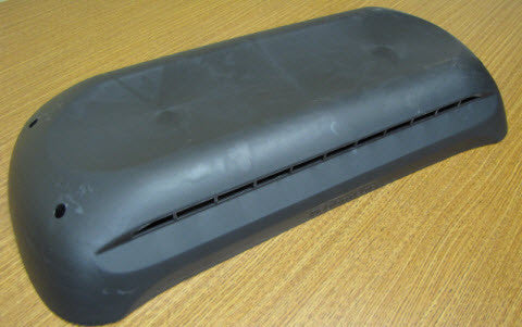Refrigerator - Roof Vent - Cap - Black - Dometic