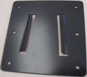 Bracket - TV - Wall Mount Plate Only - Black - For KRV #286800
