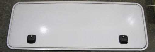 "Baggage Door - 60"" x 22"" - White"
