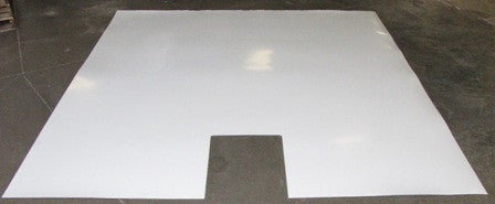 "Underbelly - Front Wrap - RP - 102.5"" x 110.5"" - TPO w/Co - .100 - White"