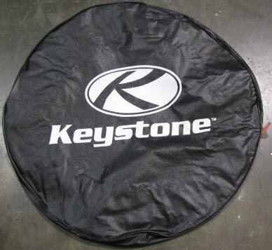 "Tire - Cover - 15"" - w/Logo - Black"