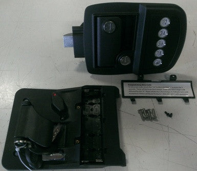 Entrance - Lock Assembly - Keyless Entry System - Battery Powered - LK313 - Challenger Door