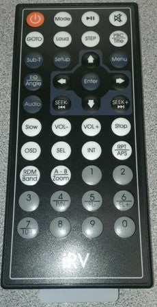 Radio - Remote Control Only - For Estone EX6500DVD - irv6500MBT