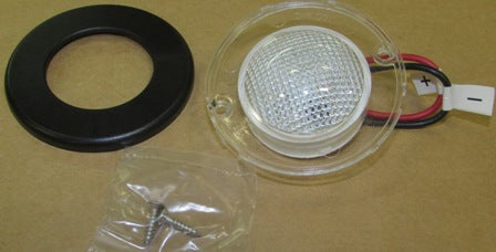Light - Exterior - Front Cap - LED - Black - Rev B