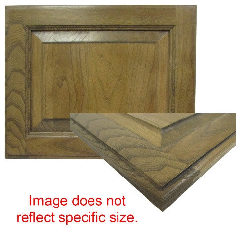 "Cabinet - Door - RPSQ - 22 3/4"" x 11 3/4"" - #19(G) - Elm - Zinfandel Cherry - Wiped Glazed"