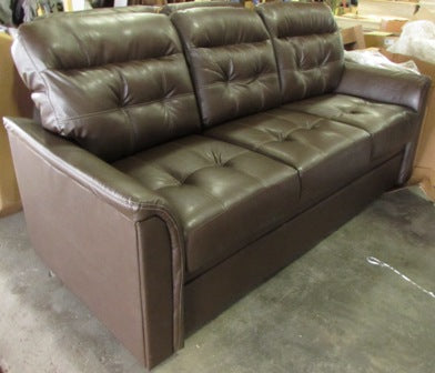 "Sofa - Back Cushions - (3) - Urban Loft/Forest Floor - 4283871 80"" Tri Fold  - Sherman Wolf - w/T270 Tan"