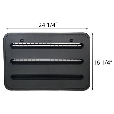 Refrigerator - Sidewall Vent - Double Door Models - Black - 2019 - Revised 5/10/19