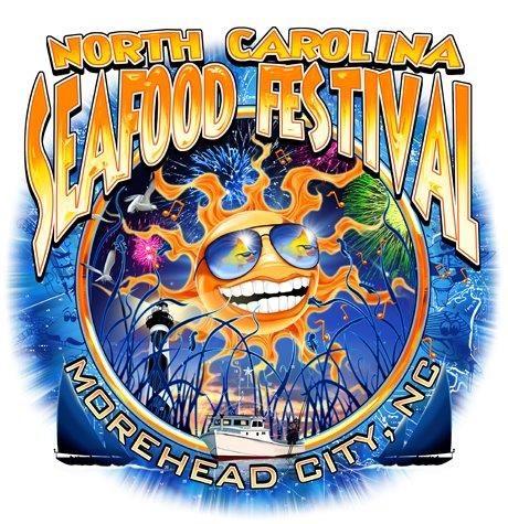 2020 NC Seafood Festival T-Shirt Collection