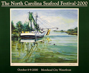 """Cedar Island Calm"" by Albert J. Goellner- 2000 Commemorative Poster"