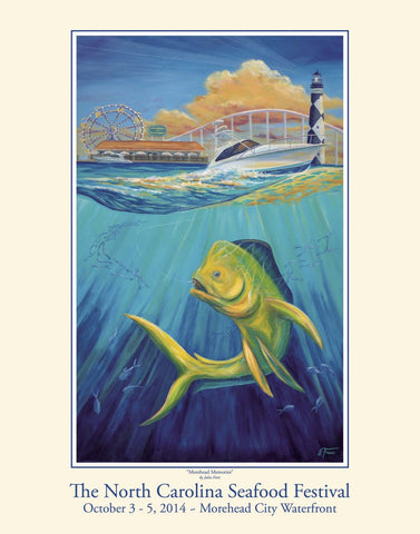 """Morehead Memories"" by Julia Frost- 2014 Commemorative Poster"