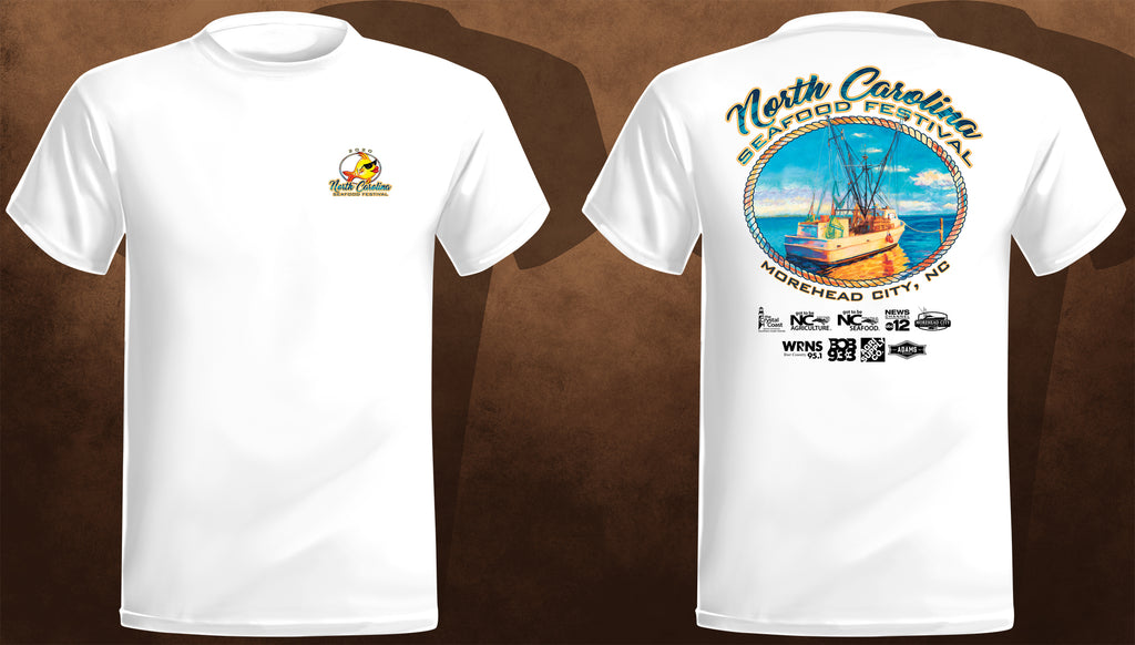 Official NC Seafood Festival T-Shirt