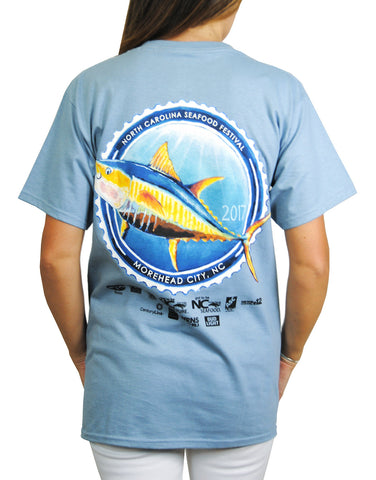 31st Annual Short Sleeve- Stonewash Blue