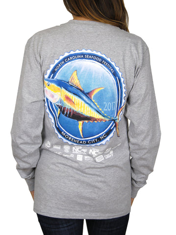 31st Annual Long Sleeve- Light Steel