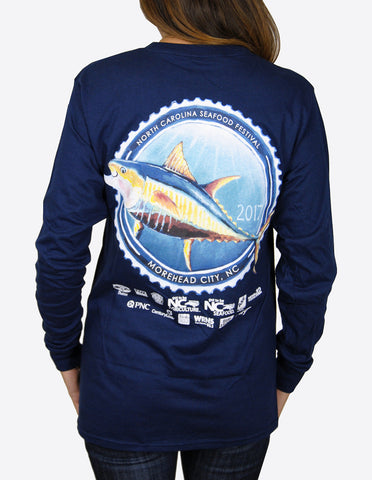 31st Annual Long Sleeve- Navy