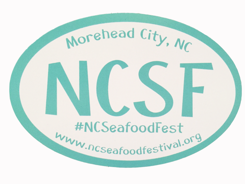NC Seafood Festival Magnet
